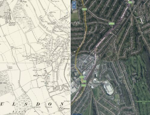 Compare old and new maps!