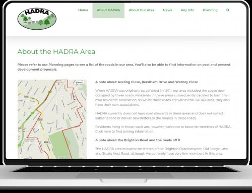 New HADRA Website!